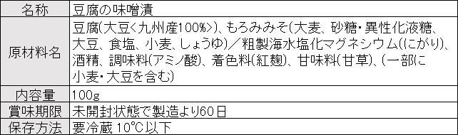 山うにとうふオリジナル商品概要20190212